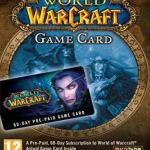 PC: World of Warcraft 60-day time card US (latauskoodi)