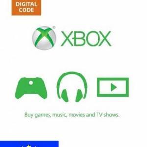 Xbox One: Xbox Live 50 EUR (latauskoodi)