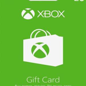 Xbox One: Xbox One: Xbox Live Card 20£: (GBP) (latauskoodi)