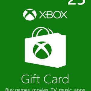Xbox One: Xbox Live £25 (latauskoodi)
