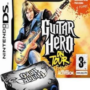NDS: Guitar Hero: On Tour + näppäimet (käytetty)