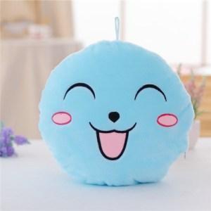 Hehkuva Emoji tyyny (Sininen)