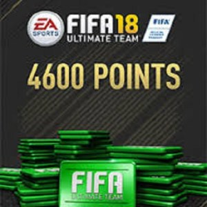 PC: Fifa 18 - 4600 FUT Points (latauskoodi)