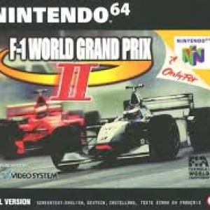 Retro: F-1 World Grand Prix 2 N64 (CIB) (käytetty)