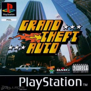 PS1: Grand Theft Auto ps1 (käytetty)