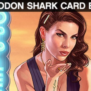 Grand Theft Auto V GTA + Megalodon Shark Cash Card (latauskoodi)