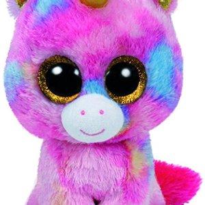 TY Beanie Boos FANTASIA - multicolor unicorn large