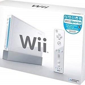 Wii: Nintendo Wii Pelikonsoli (Valkoinen) + 2 ohjainta ja kaikki tarvikkeet (käytetty)