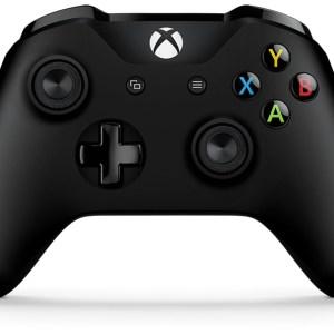 Xbox One: Microsoft Langaton Xbox One-ohjain (Musta) (käytetty)
