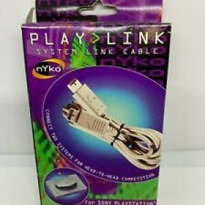 PS1: Nyko playlink playstation link cable (käytetty)