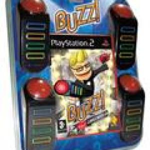 PS2: Buzz Hollywood Quiz (käytetty)