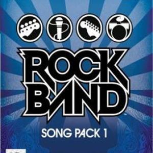 PS2: Rock Band Song Pack 1(lisäosa) (käytetty)