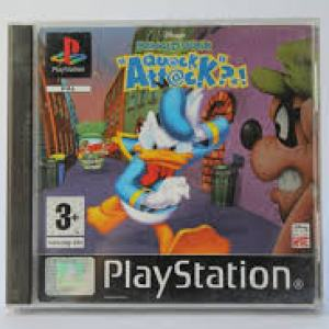 PS1: Donald Duck Quack Attack (käytetty)