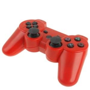 PS3: DoubleShock 3 langaton peliohjain (Punainen)