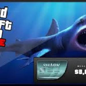 Grand Theft Auto V GTA: Megalodon Shark Cash Card RU (latauskoodi)