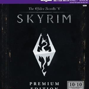 Xbox 360: The Elder Scrolls V: Skyrim (Premium Edition) (käytetty)