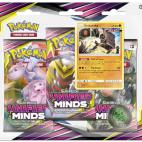 Pokemon SM11 Booster: Unified Minds 3 Pack