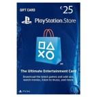 PS4: PlayStation Network Card (PSN) 25 $ (USA) (latauskoodi)