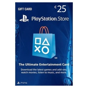 PS4: PlayStation Network Card (PSN) 25 $ (USA) (latauskoodi)