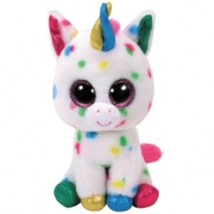 TY Beanie Boos HARMONIE - specled unicorn large