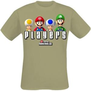 Super Mario Players T-Paita XL beige