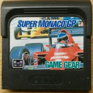 Retro: Super Monaco GP Sega Gamegear (käytetty)