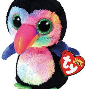 TY Beanie Boos BEAKS - Toucan bird clip