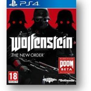 PS4: Wolfenstein The New Order (käytetty)