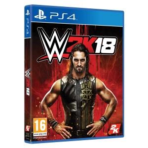 PS4: WWE 2K18 (käytetty)