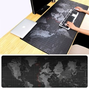 PC: 80 x 30cm hiirimatto (World map)