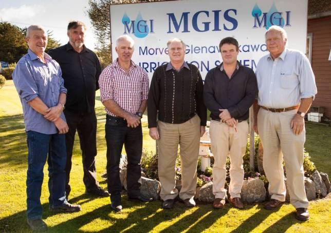 From left to right: Gert Van'T Klooster, Robert Smith, Alan Gibson, Robin Murphy (Chair), Mark Hurst, Martyn Jensen