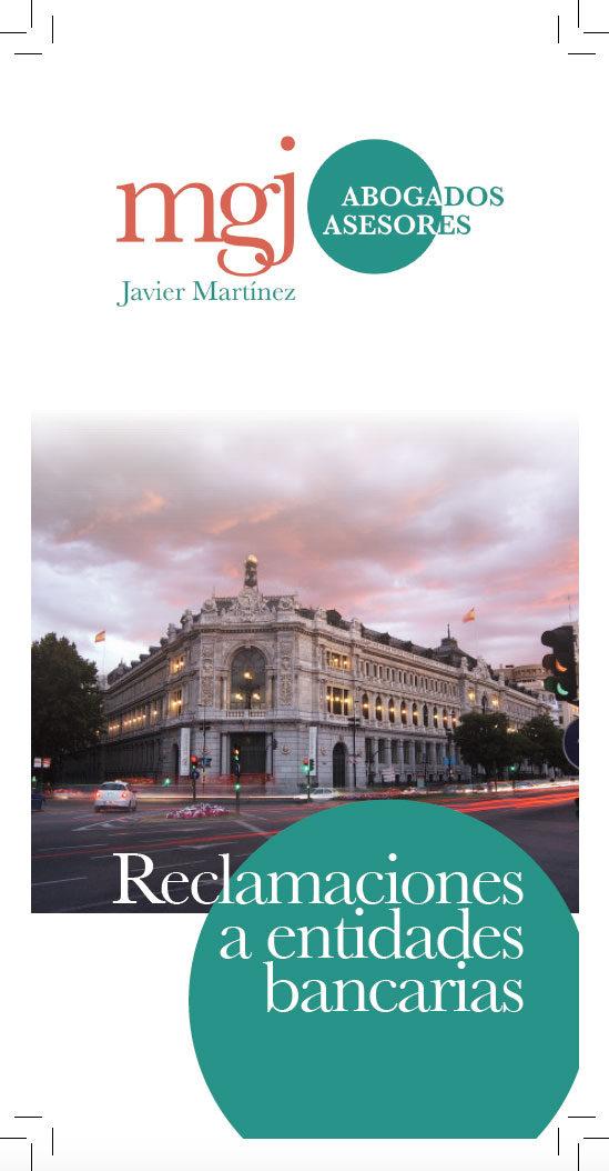 MGJ Díptico Reclamaciones Bancos 2016-17