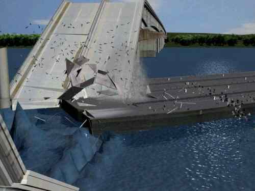 I-40 Bridge Collapse Forensic Engineering