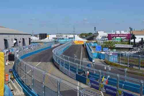 NYC Engineering Formula ePrix Racetrack Brooklyn Red Hook
