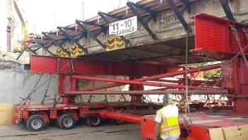LIRR Post Avenue Bridge Orchestrated Precision
