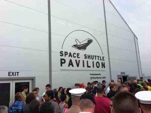 Intrepid Museum - Shuttle Tent