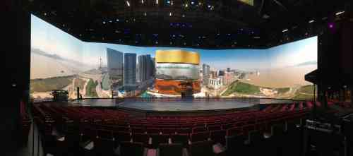 MGM Cotai Theater LED Wall System