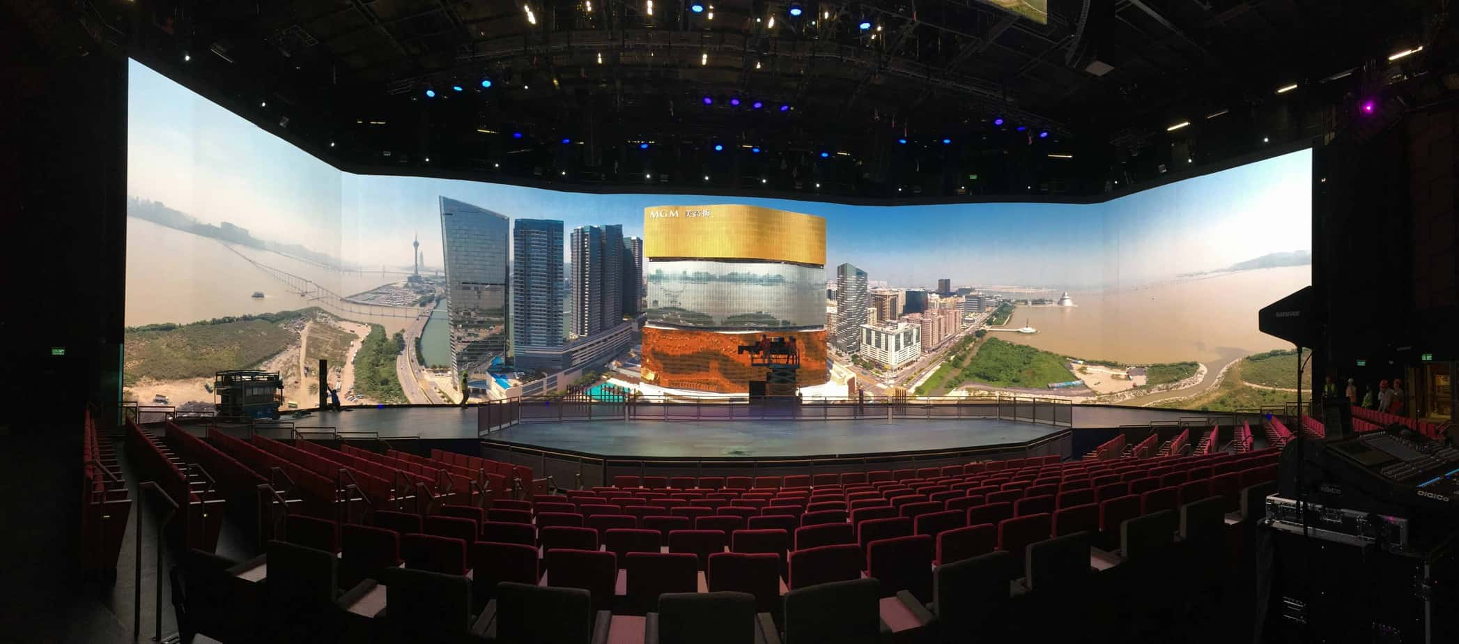 MGM Cotai Theater Video Wall System
