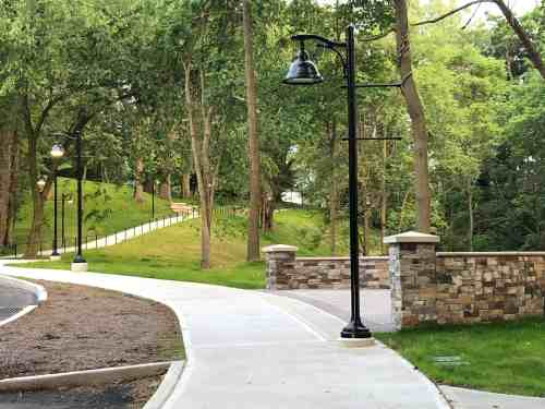 Mercy College Public Private Walkway in Dobbs Ferry