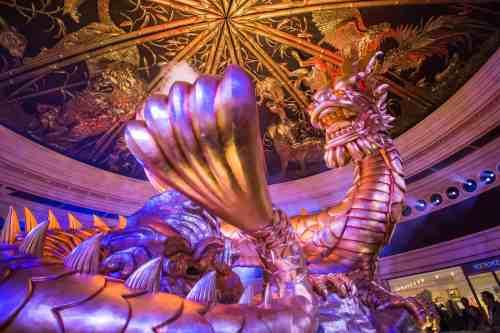 Kinetic Atrium at Wynn Macau Casino