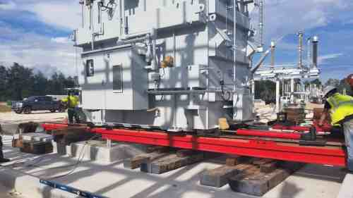 Heavy Transformer Move