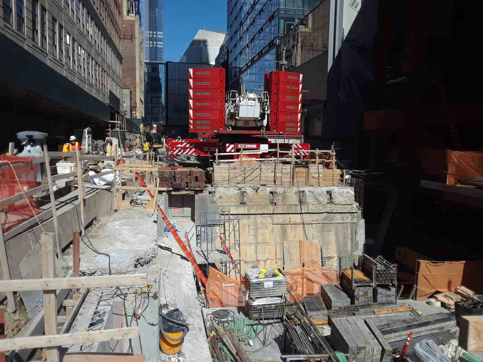 Crane Erection Plans - 31st Street Bridge