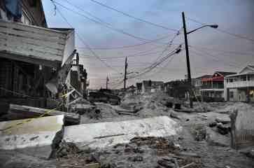 Damaged houses - ZONING FOR COASTAL FLOOD RESILIENCY