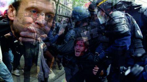 Zalim Fransız Polisi ve Türk Polisinin masumiyeti.