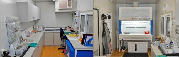MGPalaeo's Palynology Laboratory in Perth, Western Australia