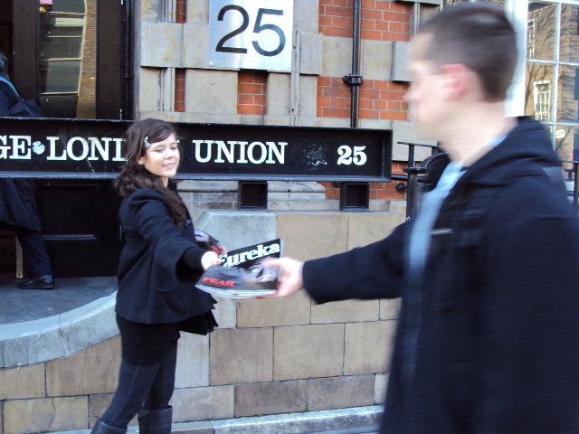 UCL Student Union The Times promotion