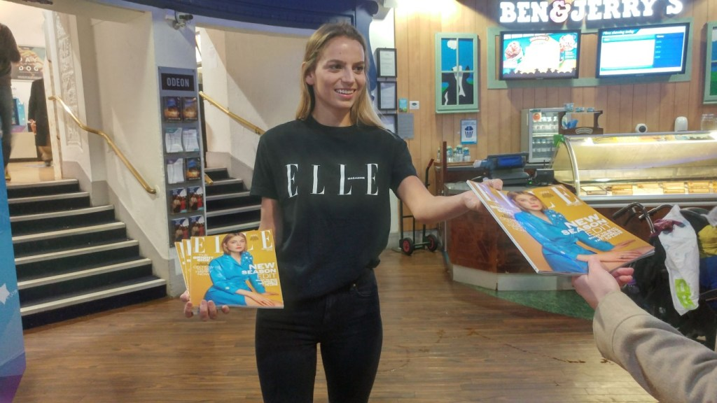 Elle magazine @ Odeon cinemas