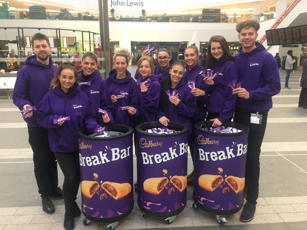 Cadbury Break Bar/Time Out  Birmingham New Street