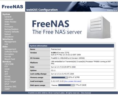 How To: DIY Music Server Using FreeNAS, SlimNAS and an H-P