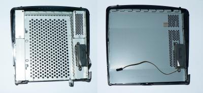 T5700 expansion chassis (left) vs regular side (right)